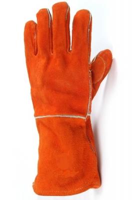 Par De Guante Soldador Forrado Souder Pro Naranja
