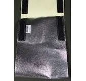 Faja Cubre Soldadura Kevlar Aluminizado Con Abrojo. 8 Pulg.