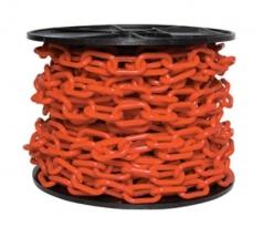 Cadena Plastica 8x29x49 Naranja Vial X 25mts