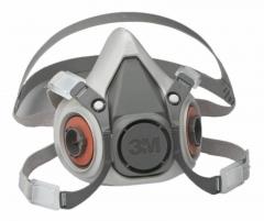 Semimascara De Silicona Pequeña 3m™ 6100
