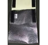 Faja Cubre Soldadura Kevlar Aluminizado Con Abrojo. 10 Pulg.