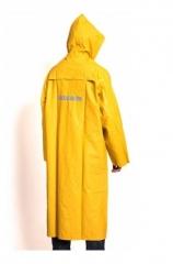 Capa Impermeable Amarilla De Pvc