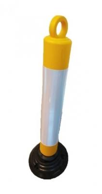 Poste Demarcatorio 80cm Amarillo