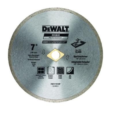 Disco De Widia Dewalt 47701 180 Mm Continuo