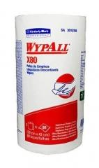 Rollo Wypall X80 Regular Roll 80 Paños De 42 X 28 Cm.