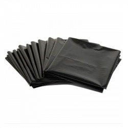 Bolsa De Consorcio Negra 40 Mic. 80x110, Pack 50 Uds.