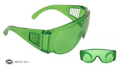 Anteojo Monolente Tipo Astro Color Verde Steelpro