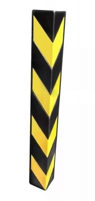 Protector De Esquina En Goma Eva Con Adhesivo 80x10x2cms Neg/am.