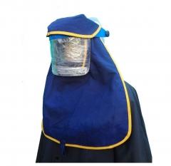 Protector Antideflagratoria Con Sistema Para Adosar A Casco