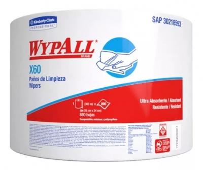 Rollo Wypall X70 Jumboroll 870 Paños 28x35cms.