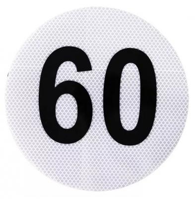 Circulo MÁxima Velocidad 60 Marca 3m.