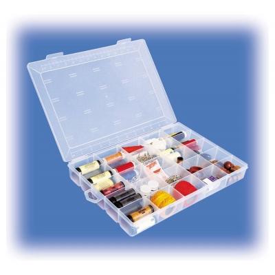 Organizador Plastico Horiz/25 Divisiones 330x240x49mm Ut120