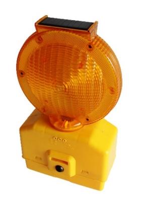 Faro Amarillo Para Cono Intermitente O Fijo Con Sensor Solar.