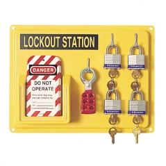 Panel De Pared Porta Lockouts Chico 4 Candados 104-1001150