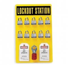 Panel De Pared Porta Lockouts 10 Candados. 105-1001153