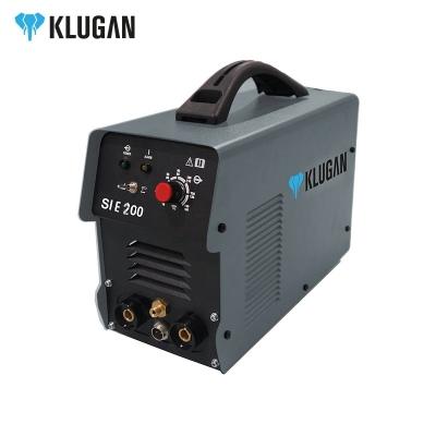 Soldadora Inverter Klugan Sie200 200a C.con 1,6-5mm Mma Cable Y Pinza