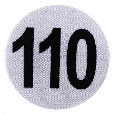 Circulo MÁxima Velocidad 110 Marca 3m.