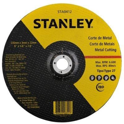 Disco Corte 230 Mm 3 Mm Centro Dep Stanley Sta0412
