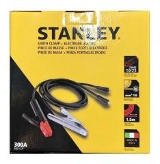 Kit De Cables Y Pinzas Stanley 98012aa Para Maquinas Inverter