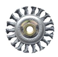 Cepillo Circ. 115mm Trenzado C/tuerca