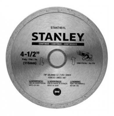 Disco De Widia Stanley 115mm Continuo