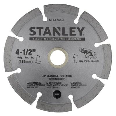 Disco De Widia Stanley 115mm Segm Stanley Sta47452l