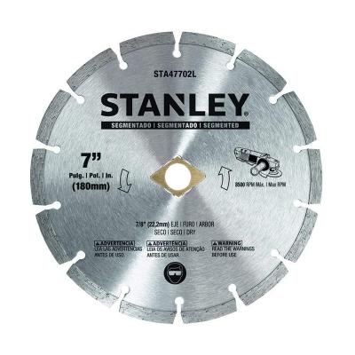 Disco De Widia Stanley 180 Mm Segmentado
