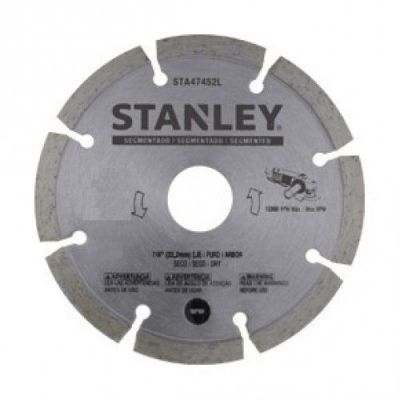 Disco De Widia Stanley 230 Mm Segm Stanley Sta47902l