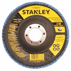 Disco Flap Zirconio 180 Mm # 80 Concavo Stanley Sta7080fz