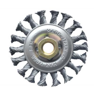 Cepillo Circ. 115mm Trenz Inoxidable C/tca Fpl 115105im14