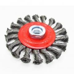 Cepillo Trenzado Circular 100 Mm C/tca