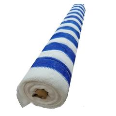 Media Sombra 2,1 X 50mts Azul Y Blanca
