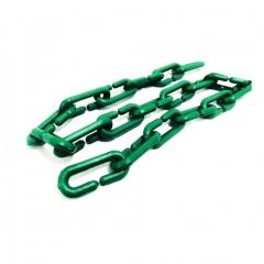Cadena Plastica Verde Fluo 6mm Bolsa X 50mt