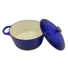 Olla De Hierro Esmaltado Azul 26cm Vonne