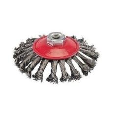 Cepillo De Acero Trenzado Conico 115mm Lacatus