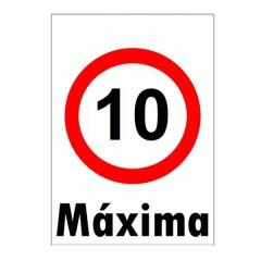Cartel Corrugado 50x70 Maxima 10