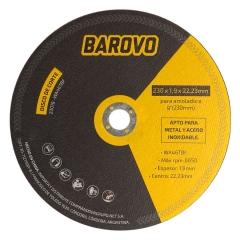 Disco De Corte 9 Espesor 1,9 Mm Barovo 23019-wa46tbf