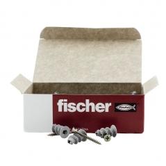 Taco Autoperforante Fischer P/yeso Gks + Screw Caja X 50 Uds