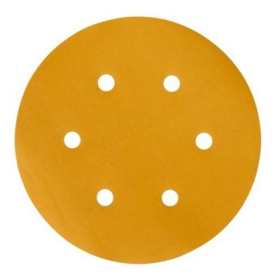 Disco Abrasivo Dorado Libre De Polvo 152mm 6' 236u 3m P150
