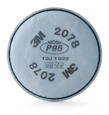 Filtro 3m 2078 P95 Para Vapores Organicos Y Gases Acidos
