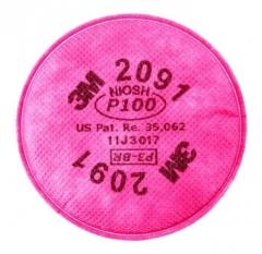 Filtro 3m 2091 P100 Para Particulas