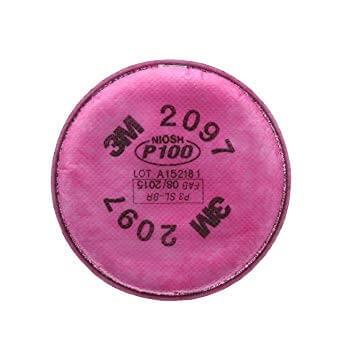 Filtro 3m 2097 P100 Para Particulas Y Vapores Organicos
