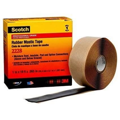 Cinta 3m 2228 Rubber Mastic 50.8mm X 3mts