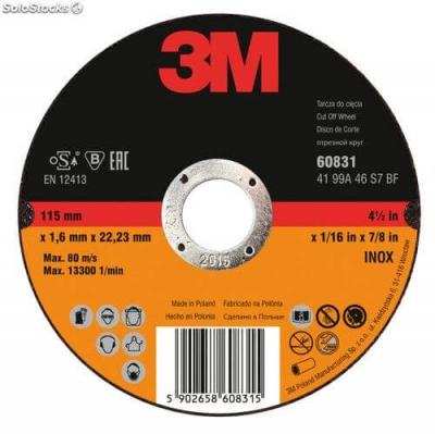 Disco Corte 3m Diam. 115mm 1,6mm Plano 3m-61037