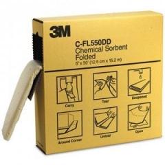Absorbente 3m Cfl550dd Pano Plegado Para Quimicos Microperforado