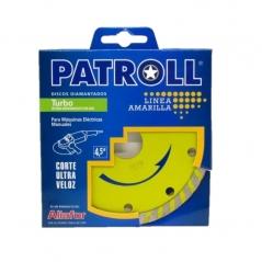 Disco Turbo Fino Patroll 41/2 Ptf4,5