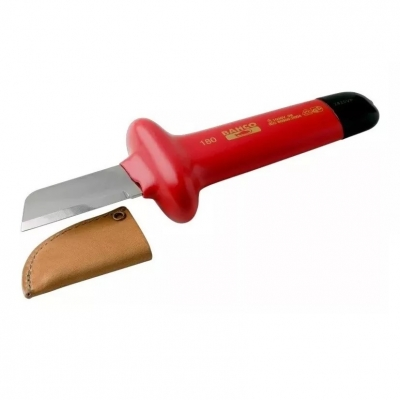 Cuchillo Recto Cortacable Bahco 2820vp 180mm Aislado 1000v