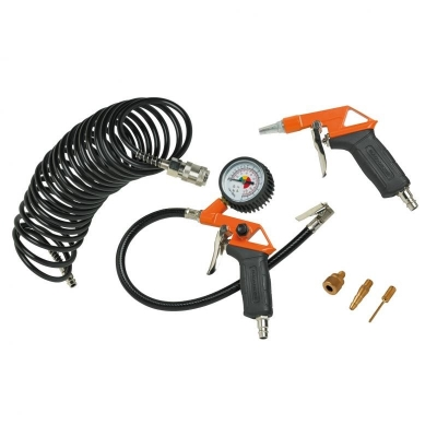 Kit Compresor 6 Pzs Black And Decker Bck6la