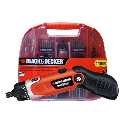 Atornillador Inalambrico Black Decker Fdx100 + 110 Accesorio