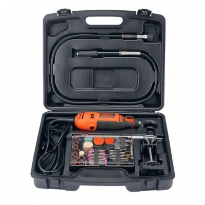 Torno Manual 120w Mas Kit Black&decker Rt18ks-ar